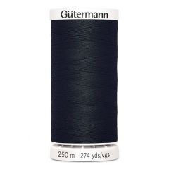 Hilo Gütermann Negro - 250m - Ref. 000